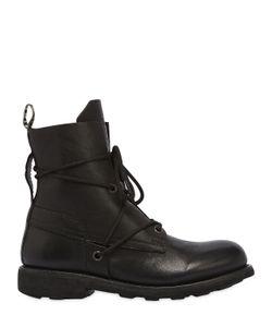 Bikkembergs   Кожаные Ботинки С Потёртостями 20mm
