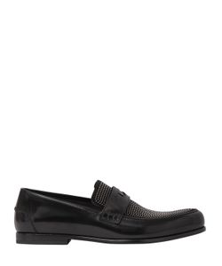 Jimmy Choo | Пенни-Лоферы Из Кожи И Замши
