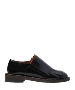 Marni | Кожаные Туфли С Бахромой 30mm