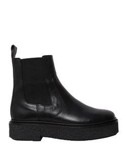 Isabel Marant | Кожаные Ботинки Celton На Платформе 30mm