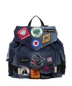 Dsquared2 | Рюкзак Из С Нашивками Military Glam
