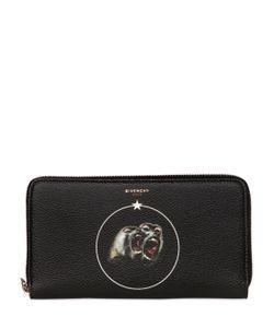 Givenchy | Кошелёк Из Искусственной Кожи С Принтом Обезьяны