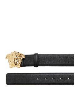 Versace | Кожаный Пояс С Пряжкой Medusa 40Мм