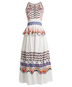 Temperley London | Spellbound Geometric-Embroidered Cotton Dress