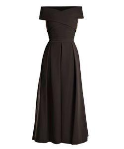 Preen By Thornton Bregazzi | Virginia Off-The-Shoulder Cady Dress