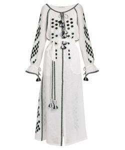 Vita Kin | All Stars Embroidered Linen Dress