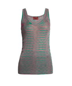 Missoni | Faded-Stripe Ribbed-Knit Tank Top
