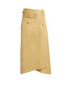 Joseph | Berwick A-Line Cotton-Sateen Skirt