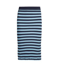 Altuzarra | Bloomfield Striped Ribbed-Knit Skirt