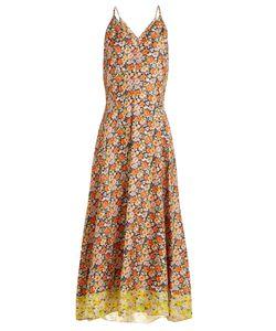 Rebecca Taylor | Moonlight Garden Print Silk Dress