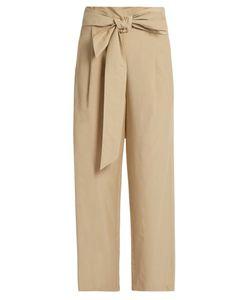 Masscob | Wide-Leg Cropped Trousers