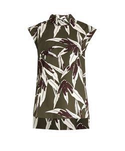 Marni | Bamboo-Print Coated-Cotton Top