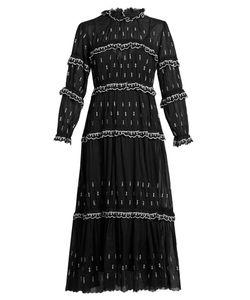 Isabel Marant Étoile | Lyukio Ruffle-Trimmed Tiered Cotton Dress