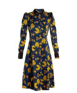 Altuzarra | Filippa Print Silk-Jacquard Shirtdress