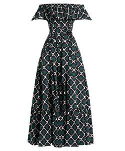 LA DOUBLEJ EDITIONS | One Love Off-The-Shoulder Cotton Dress