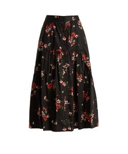 Rebecca Taylor | Marguerite Print Tiered Skirt