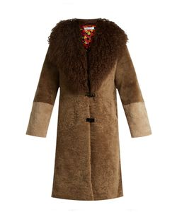 Saks Potts | Febbe Berthe Shearling Coat
