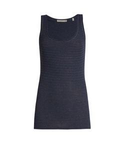 Vince | Striped Pima-Cotton Jersey Tank Top