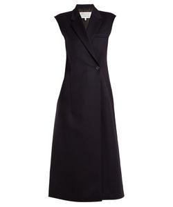 Maison Margiela   Double-Breasted Sleeveless Wool Dress