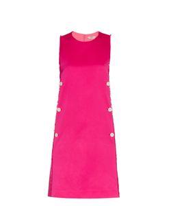 Edun | Frayed Satin Dress