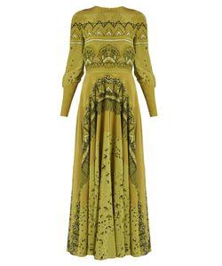 Valentino | Swallow Metamorphosis-Print Silk Dress