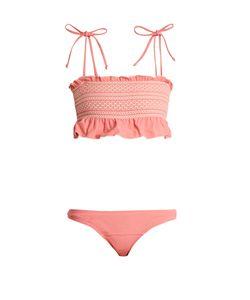 Lisa Marie Fernandez | Selena Smocked Bikini