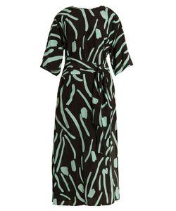 Diane Von Furstenberg | Chatham-Print Wrap-Style Silk Dress