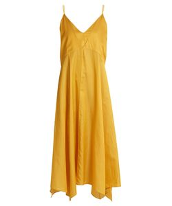 LEMAIRE | Cotton And Silk-Blend Lingerie Slip Dress