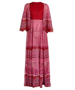 Valentino | The Garden Of Earthly Delights-Print Chiffon Dress