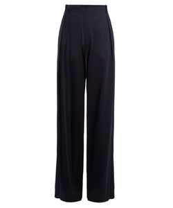 Tomas Maier | Campus Wide-Leg Jersey Trousers
