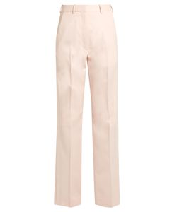 HILLIER BARTLEY | Straight-Leg Wool And Silk-Blend Tuxedo Trousers