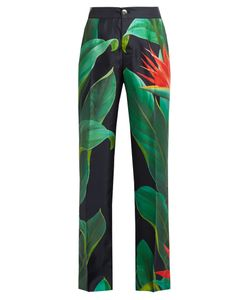 F.R.S For Restless Sleepers | Cronos Flower-Print Silk Pyjama Trousers