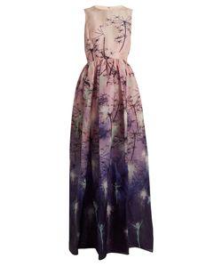 Mary Katrantzou | Shaw Sleeveless Fairy-Print Silk Gown