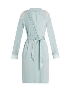 La Perla | Romance Lace-Panel Jersey Robe