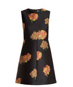 Red Valentino   -Brocade Mini Dress