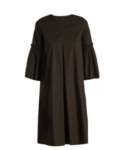 MM6 by Maison Margiela | Flared-Sleeve Cotton-Poplin Dress