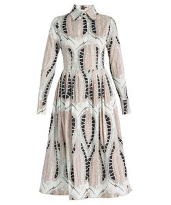 Sophie Theallet | Alabaster Cotton-Poplin Dress