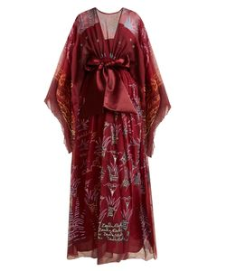 ZANDRA RHODES ARCHIVE | Summer Collection The 1973 Field Of Lilies Gown