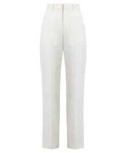 Chloe | Straight-Leg Wool And Cotton-Blend Twill Trousers