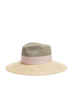 FEDERICA MORETTI | Bi-Colour Straw Hat
