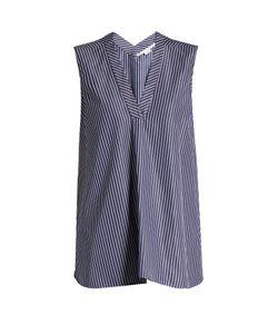 Stella Mccartney | V-Neck Striped Cotton Top