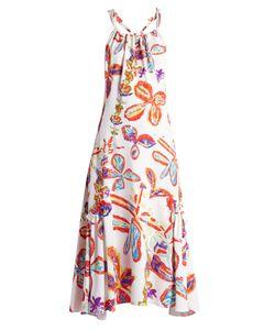 Peter Pilotto | -Print Halterneck Poplin Dresss