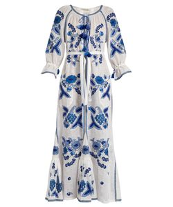 Vita Kin | Grapevine Embroidered Linen Dress