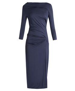 Vivienne Westwood Anglomania | Taxa Asymmetric Draped Jersey Dress