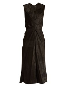 Isabel Marant | Ravenax V-Neck Satin Dress