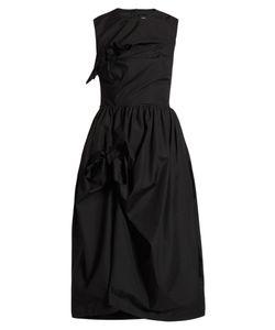 Simone Rocha | Knotted Gathe Poplin Dress