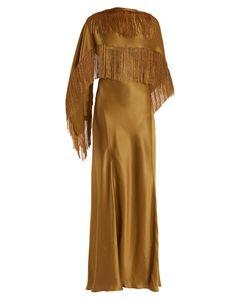 Gabriela Hearst | Marlene V-Neck Silk Wrap Dress