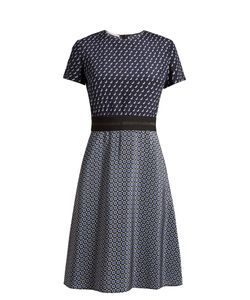 Stella Mccartney   Petra Geometric-Print Fluted Dress