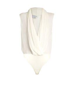 Gabriela Hearst   Harriet V-Neck Silk-Georgette Body