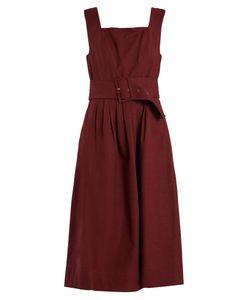 Sea | Pleated Sleeveless Cotton Dress